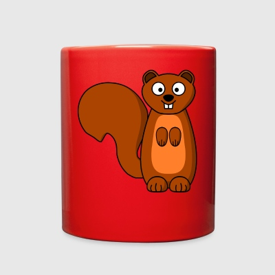 squirrel eichhoernchen animal tiere - Full Color Mug