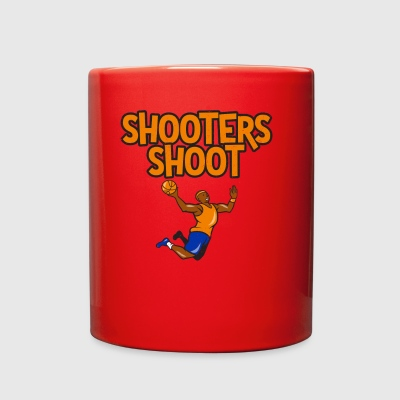 Shooters Shoot Sport Basketball Football Soccer - Full Color Mug