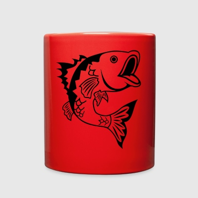 Bass Fish - Full Color Mug