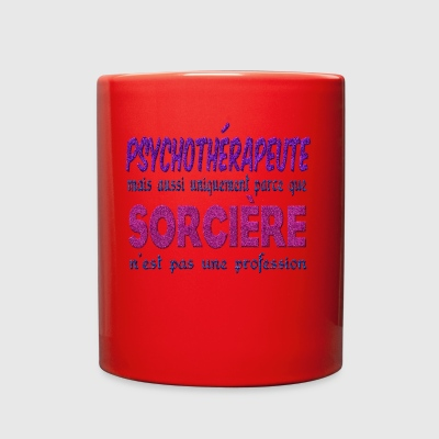 Witch Psychotherapist - Full Color Mug
