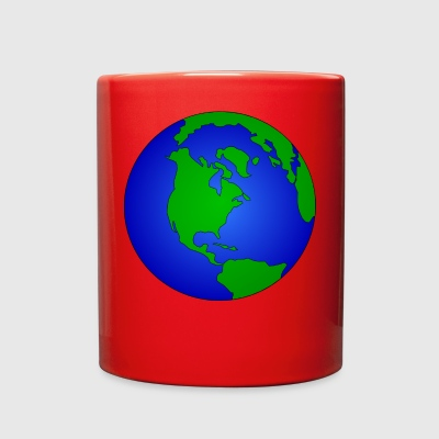 earth - Full Color Mug