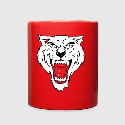 Wild Cat Roar - Full Color Mug