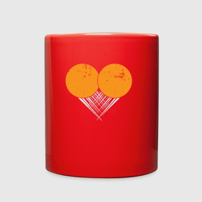 I love Ping Pong My Heart goes Ping Pong Gifts - Full Color Mug