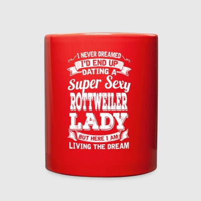 Dating A Super Sexy Rottweiler Lady - Full Color Mug
