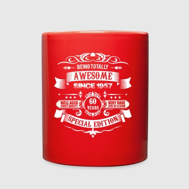 Totally Awesome Since 1957 60th Birthday - Full Color Mug