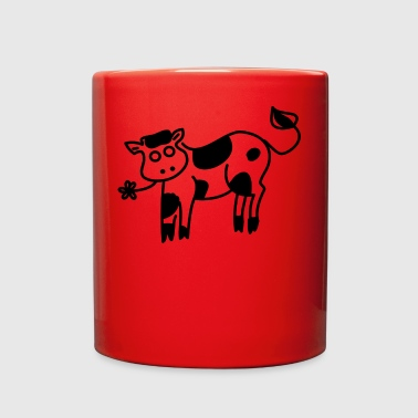 scribble cow - Full Color Mug