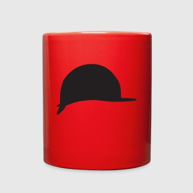 helmet silhouette - Full Color Mug