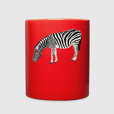 zebra - Full Color Mug