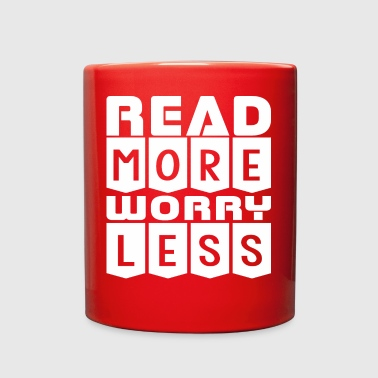 Read More Worry Less - Full Color Mug