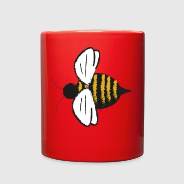 Cute Bumble Bee Fly Insect Honey Bug Gift Present - Full Color Mug