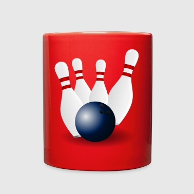 bowling - Full Color Mug