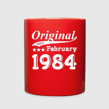 Original Since February 1984 Gift - Full Color Mug