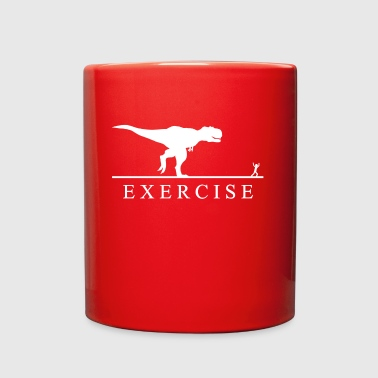 Exercise Motivation T Rex - Full Color Mug