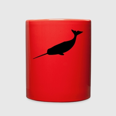 narwhal - Full Color Mug