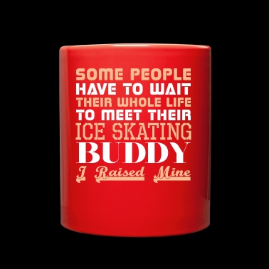 Some People Have Wait Life Meet Ice Skating Buddy - Full Color Mug