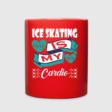 Ice Skating Is My Cardio - Full Color Mug