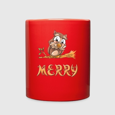 Merry Owl - Full Color Mug