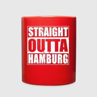 Shop Straight Outta Hamburg Design - Full Color Mug