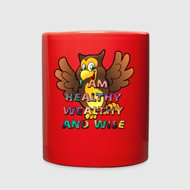 I AM Healthy Wealthy and Wise - Full Color Mug