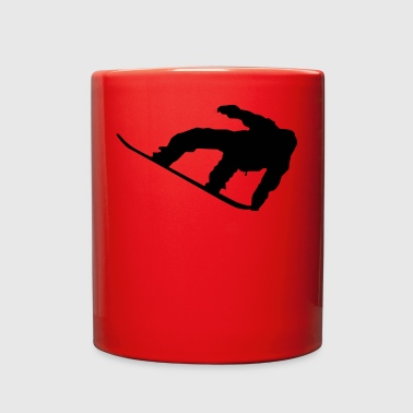 snowboard - Full Color Mug