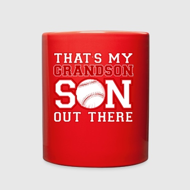 That Is My Grandson Out There TShirt - Full Color Mug