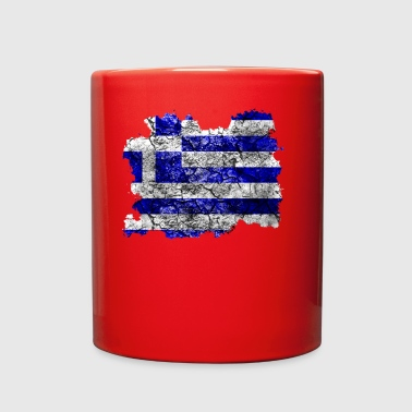 Greece Vintage Flag - Full Color Mug