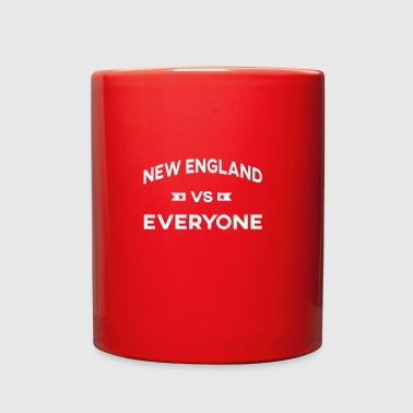 new england vs everyone - Full Color Mug