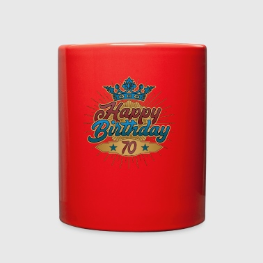 Happy Birthday 70 gift present cool vintage 1948 - Full Color Mug