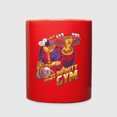 comics gym - Full Color Mug