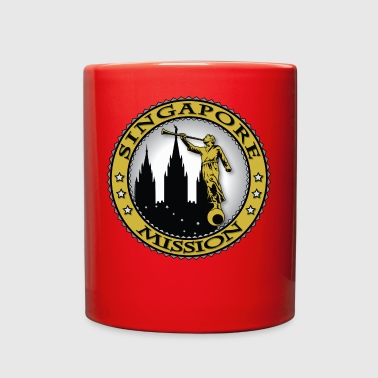 Singapore Mission - LDS Mission Classic Seal Gold - Full Color Mug