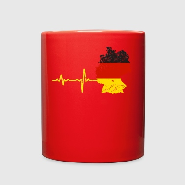 Heartbeat Germany gift - Full Color Mug
