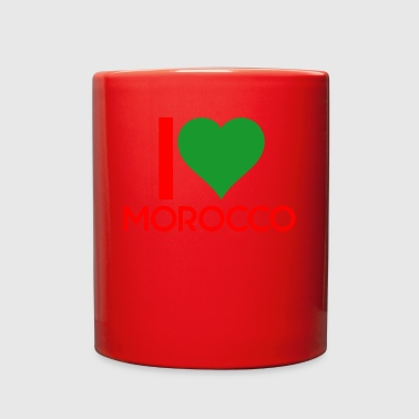 I love Morocco - Full Color Mug