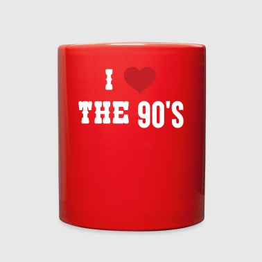 I LOVE THE 90'S - Full Color Mug