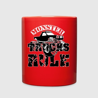 MONSTER TRUCKS RULE - Full Color Mug