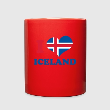I love iceland - Full Color Mug