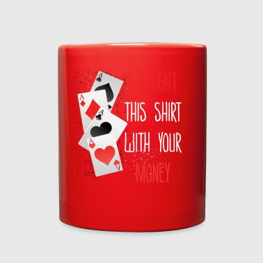 Poker T-Shirt Gifts - Full Color Mug