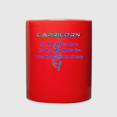 Capricorn in the Zodiacs - Full Color Mug