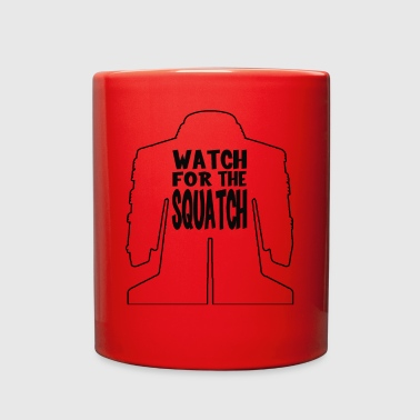 Watch For The Squatch Black Logo - Full Color Mug