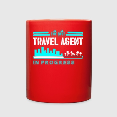 The Best Travel Agent In Progress - Full Color Mug