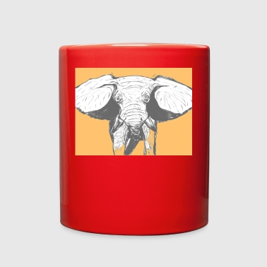 Elephant - Full Color Mug