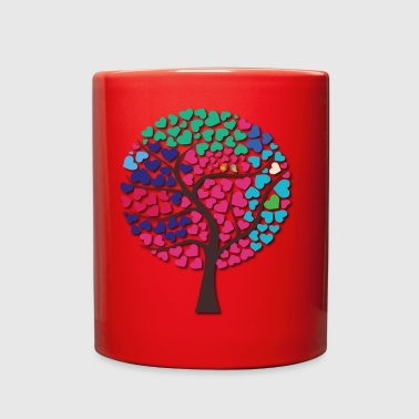 Love tree Wedding Guest Book - Full Color Mug