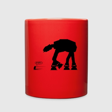R2D2 vs AT-AT - Full Color Mug