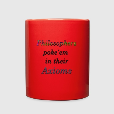 Philosophers poke'em in their Axioms - Full Color Mug