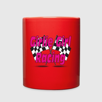 girlie girl Racing - Full Color Mug