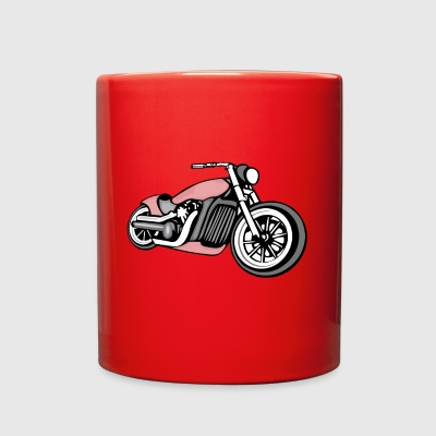 motorcycle - Full Color Mug
