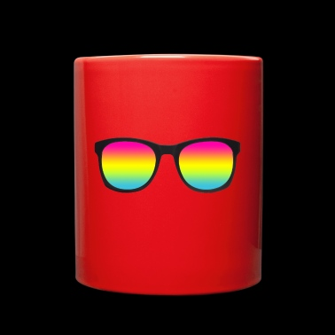 pan glasses - Full Color Mug