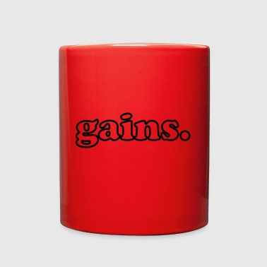 Gains gainz gift idea present - Full Color Mug