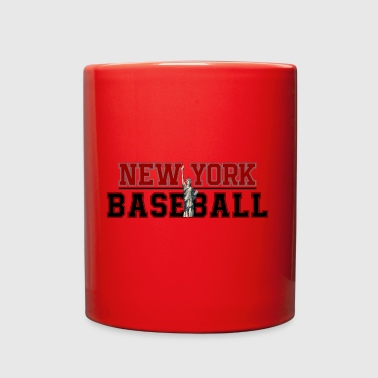 Baseball In New York - Full Color Mug