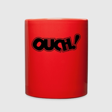 Ouch! Boo Boo! Ow! Hurt Hurts Pain Words Gift - Full Color Mug
