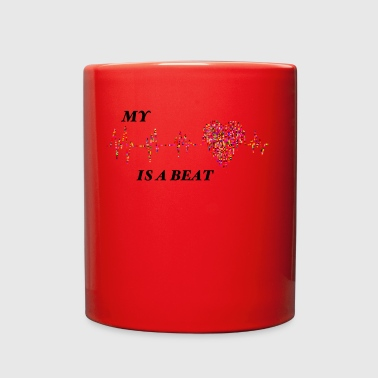 My heart is a Beat - Full Color Mug